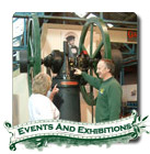 Click here to go to the events and exhibitions page