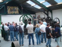 Saturday night at the museum following 1000 Engines Rally