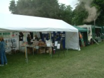 View of stall at Astle Park