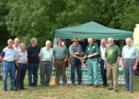 Some of Rally Exhibitors and Memorial Award winner