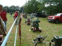 Engines at Poynton Show